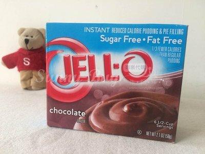 【Sunny Buy】◎現貨◎ 美國 Jell-O 布丁粉 Sugar Free 無糖 巧克力口味 果凍粉 59g/盒