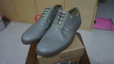 CAMPER ERICK 灰色黃底 皮鞋 休閒鞋 42號