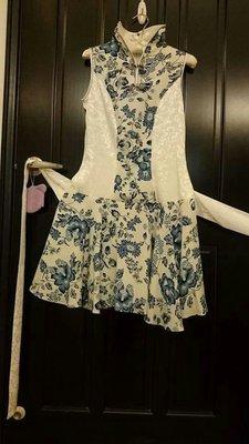 旗袍改良式洋裝(M size)