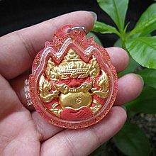 *泰國精品*【 拉胡 天神 ~(橘紅色)~】~泰國 瓦邦帕寺廟 阿贊蘇斌 ~本廟正品已開光加持~泰國佛牌