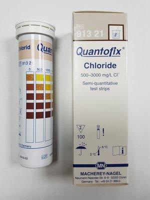 【編號91321】氯化物離子測試紙0-3000ppm