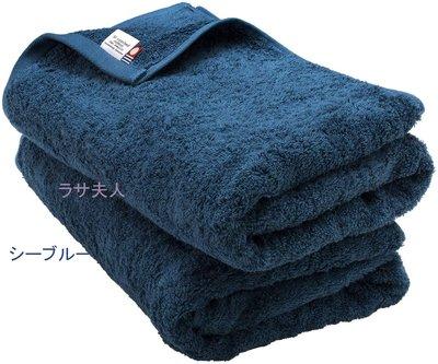 拉薩夫人◎日本◎Bloom今治認證毛巾Leon素色大浴巾- BATH TOWEL/2件組 共7色 防疫重衛生