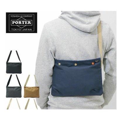 Tsu 日本代購 日標 PORTER PORTER COPPI 斜背包 571-09747 側背包 小包 日本製 5色