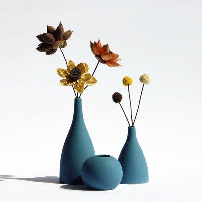 熱賣北歐ins風磨砂陶瓷花瓶干花家居裝飾品客廳電視柜禪意插花擺件#擺件#陶瓷#北歐
