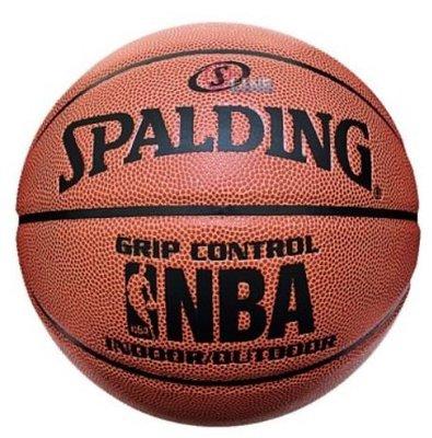 【預購】 SPALDING 斯伯丁 NBA籃球 GRIP CONTROL系列 合成皮籃球 - SPA74577 [迦勒]