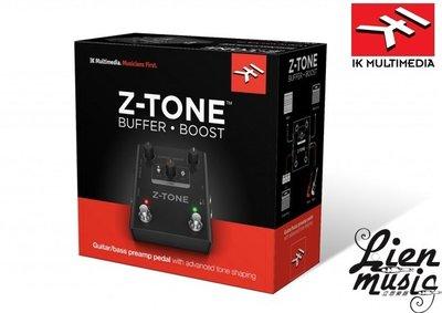 『立恩樂器 效果器專賣』免運 IK Multimedia Z-TONE Buffer Boost 義大利製 ZTONE