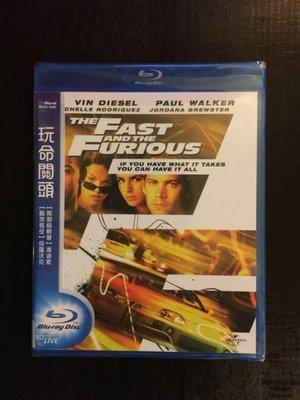 (全新未拆封)玩命關頭 The Fast And The Furious 藍光BD(得利公司貨)限量特價