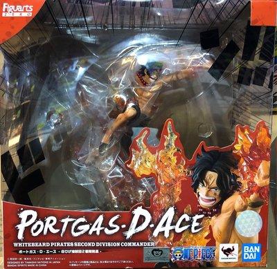 Bandai One Piece Figuarts Zero Whitebeard Pirates Division Portgas D Ace 艾斯