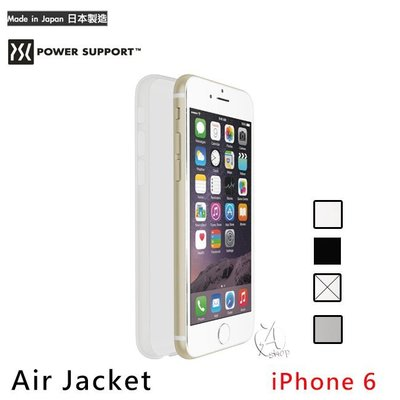 特價【A Shop】POWER SUPPORT iPhone6S/6 Air Jacket 超薄保護殼 (含保貼)