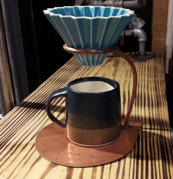 【多塔咖啡】日本進口 ORIGAMI 摺紙咖啡陶瓷濾杯組 M 第二代 (土耳其藍) 2019咖啡冠軍專用杯 摺紙濾杯