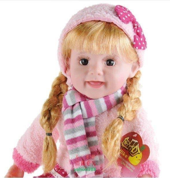 美學262智能對話布娃娃會說話的芭比娃娃眨眼洋娃娃兒童玩具女孩3908❖16197