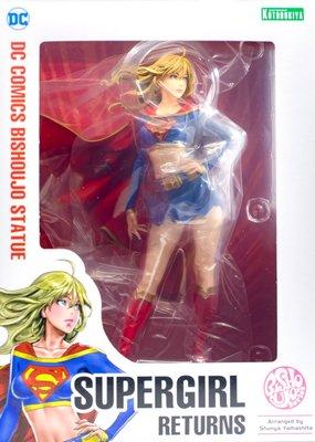 日本正版 壽屋 DC COMICS 美少女 女超人 超級少女 1/7 公仔 模型 日本代購