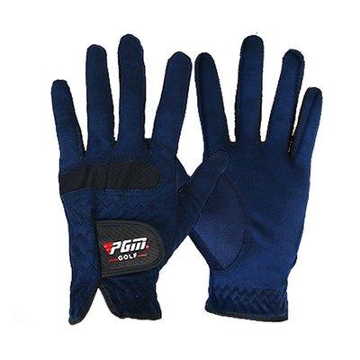 萌時尚Men's Right Left Hand Golf Gloves Breathable Anti Slip Glove