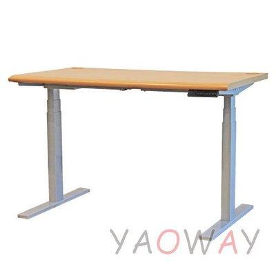 【耀偉】國產 『160x80桌面』 智慧型 記憶電動升降桌 -電腦桌/書桌/工作桌/會議桌/站著工作/雙馬達