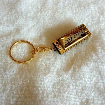 【老羊樂器店】日本 SUZUKIMINI HARMONICA 5孔10音 迷你口琴 鑰匙圈口琴