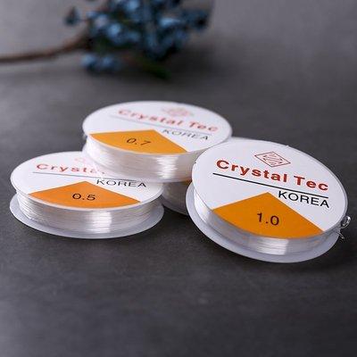 買多有優惠-透明水晶彈力線diy手工飾品串珠松緊線手鏈手串繩穿珠子的線(規格不同價格不同)金牌雜貨鋪