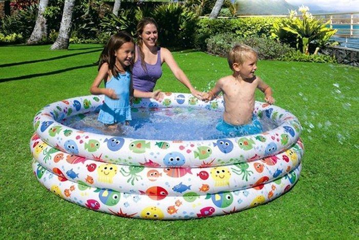 最新款INTEX 56440繽紛多彩游泳池~ 168x38公分◎童心玩具1館◎
