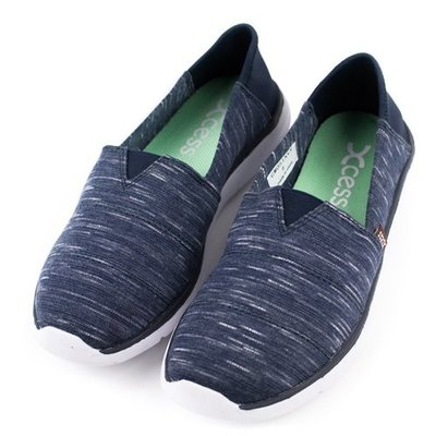 =CodE= XCESS CLASSIC 編織透氣網布休閒鞋(雲彩藍) GW051-NVY TOMS 娃娃鞋 樂福鞋 女