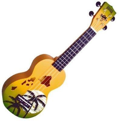 【六絃樂器】全新 Mahalo Green Burst ukulele 21吋烏克麗麗 / 現貨特價