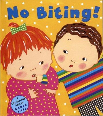*小貝比的家*NO BITING! / LIFT-FLAP/精裝/2-3歲幼幼班/品格教育