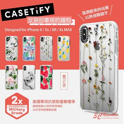 CASETiFY iPhone X Xs XR Xs MAX 耐衝擊 軍規 認證 防摔 歐美 手機殼 保護殼 公司貨