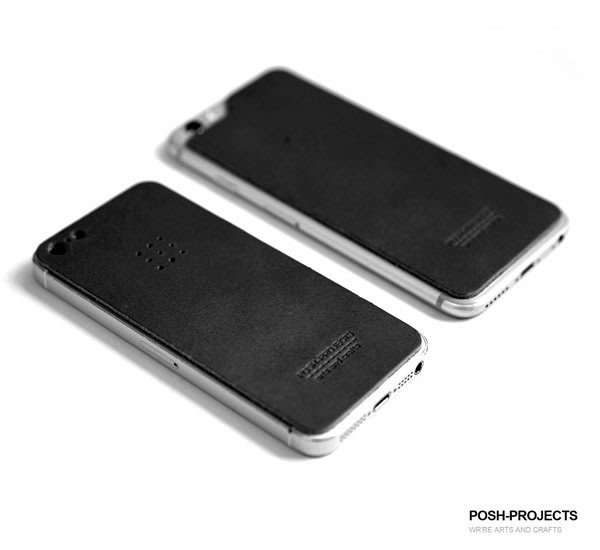 GOODFORIT / 南韓廠牌POSH-PROJECTS 504 義大利皮革手機保護貼iPhone/6/6s