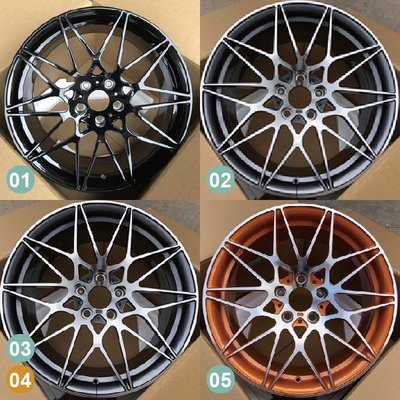 【SD祥登汽車】 For BMW 寶馬 18吋 鍛造鋁圈 01到16款 另有17款-87款可選擇