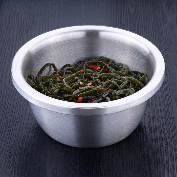 廚房用品加厚304不鏽鋼調料盆調味缸洗菜盆和麵盆打蛋盆(20cm)D188