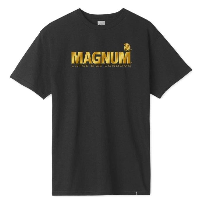 (安心胖) HUF x TROJAN MAGNUM T-SHIRT  2XL