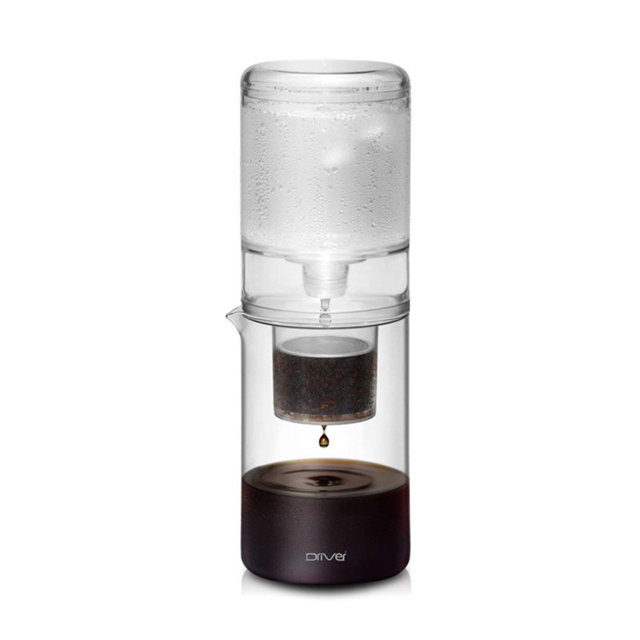 【沐湛伍零貳】Driver NEW 設計款冰滴 600ml 調整閥全新升級 透明色 冰滴咖啡 冰釀咖啡 咖啡壺