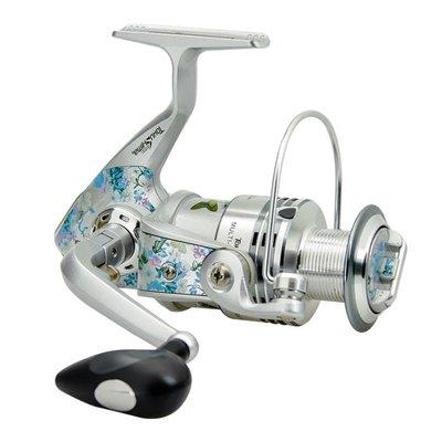 彩漆魚輪魚線輪全金屬線杯遠投紡車輪磯釣輪清倉漁輪