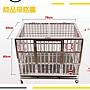 【惡寵】現貨優惠 全新『78*50*60』不鏽鋼 中大型摺疊 寵物籠 狗籠 寵物 籠子
