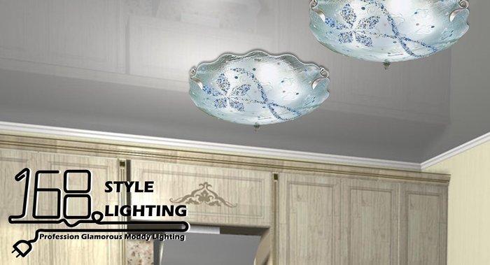 【168 Lighting】雪花飄動《居家吸頂燈》(兩款)八燈款GI 71395-1