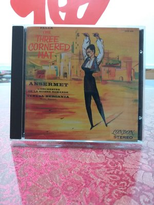 classic compact discs 24ct GOLD  the three cornered hat
