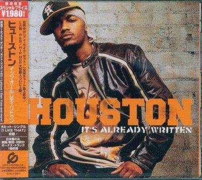 K - HOUSTON - It's already Written - 日版 +1BONUS - NEW