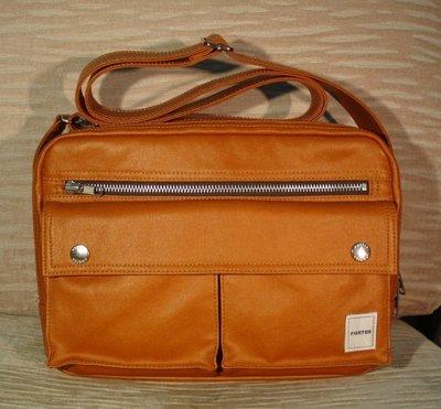 PORTER INTERNATIONAL MILKY系列正品公司貨 焦糖色  側背包