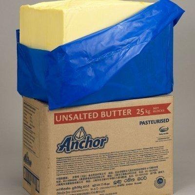 【烘焙百貨】安佳無鹽奶油 25kg 信用卡付款