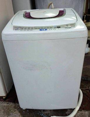 【真實園中古家電】東芝 AW-G1050S 10公斤 二手 洗衣機 雙噴射瀑布水流/風乾/抗菌/靜音/機美