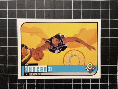Tim Duncan ud choice preview 特卡