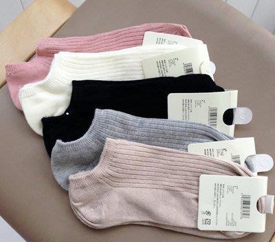 日本女棉襪 日本棉襪 女 極短襪 素色日本襪子 日本運動行船行襪 日本短襪 3雙350元 黑色/米白/粉色/卡其