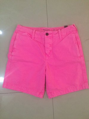 Abercrombie and Fitch men's light pink sz 31 $990