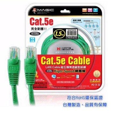 【Magic】Cat.5e Hight-Speed 網路線 RJ-45 1.5米 純銅材質 CBH-CAT5-1.5M