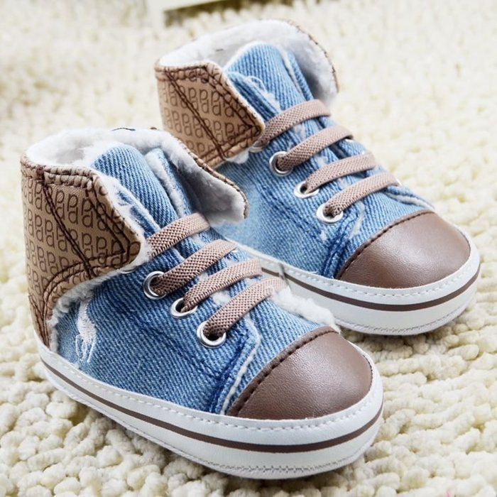 森林寶貝屋~新潮牛仔休閒鞋~學步鞋~保暖鞋~寶寶鞋~嬰兒鞋~童鞋~學走鞋~保暖舒適~彌月贈禮~特價1雙135元