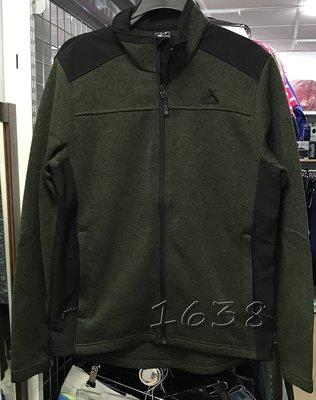 ZEROXPOSUR 男刷毛外套  保暖外套