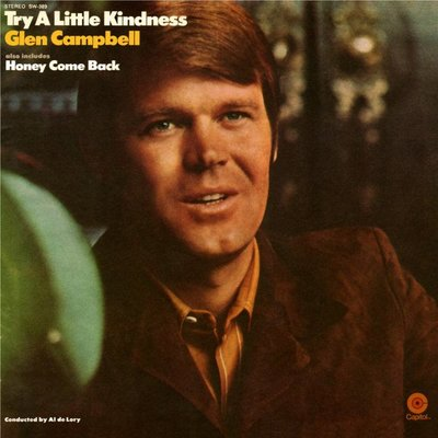 美國二手黑膠Glen Campbell/Try a little kindness