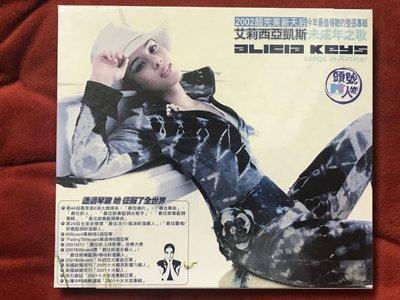 Alicia Keys 艾莉西亞凱斯-Songs in A Minor 未成年之歌-全新未拆
