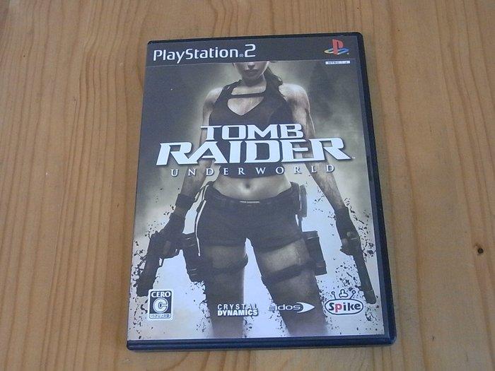 【小蕙生活館】PS2~ Tomb Raider:Underworld 古墓奇兵 地城奪寶 (純日版)