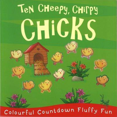*小貝比的家*TEN CHEEPY, CHIRPY CHICKS/平裝/3~6歲 / 數字