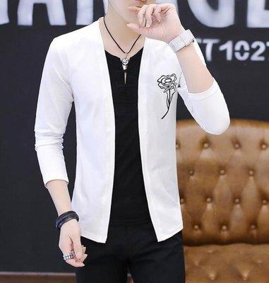 BELOCO 長袖T恤-男士長袖T恤男秋季薄款韓版修身上衣BE655