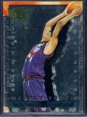 96-97 METAL FRESHLY FORGED #4 MARCUS CAMBY RC